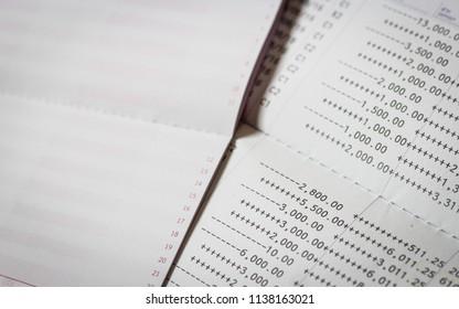 Bank Statement Images, Stock Photos & Vectors | Shutterstock