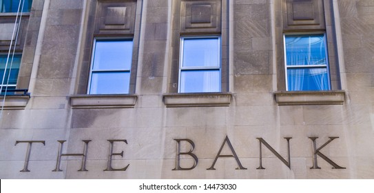 Bank building - financial institution