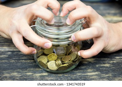 Bank of coins, saving a lot of coins.