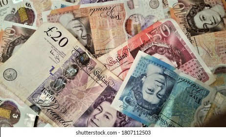 Bank of England Great Britain Pound notes