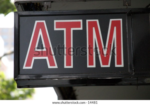 bank machine / atm