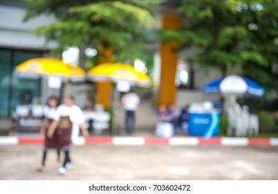 Bank Offsite Offices,blur focus