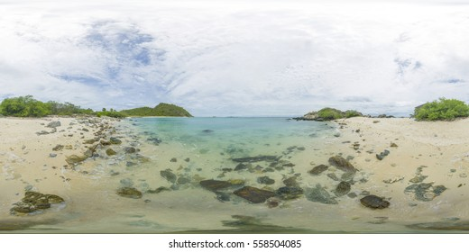 The Bank of the small uninhabited Islands.  360 degree.