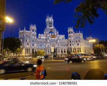 Bank of Spain at Night
