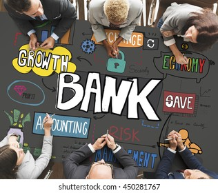Banking Budget Finance Connect Profit Savings Concept