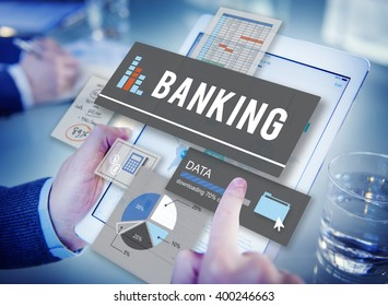 Banking Finance Savings Management Concept