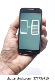 Banking with a smart phone