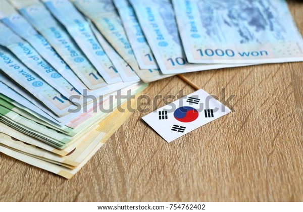 Banknote of south korea