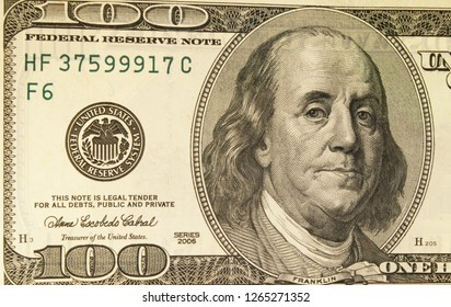 Banknotes of american dollars