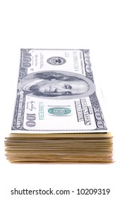 Banknotes of dollar/ business finance