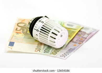 Banknotes with heating Thermostat
