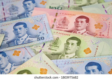 Banknotes of the Tailand (new design issued in 2018)