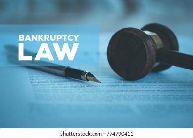 BANKRUPTCY LAW CONCEPT