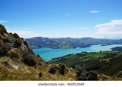 Banks Peninsula in the Canterbury , New Zealand
