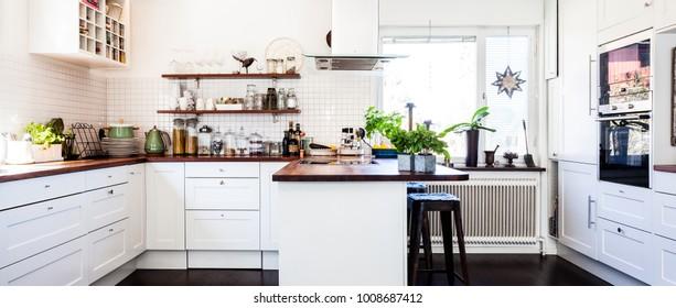 banner fancy kitchen interior