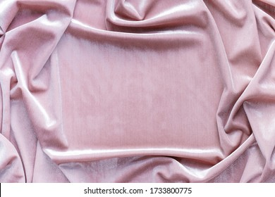 Banner velvet texture background pink color. festive baskground. expensive luxury, fabric, material, cloth.Copy space.