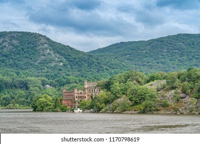 Bannerman's castle as seen from the Hudson river