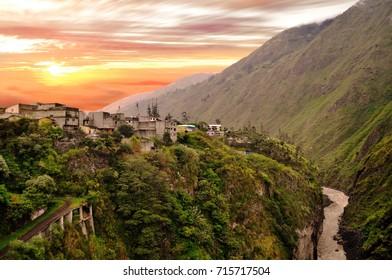 Banos de Agua Santa, Tungurahua Province, Ecuador