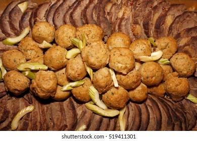 banquet dish