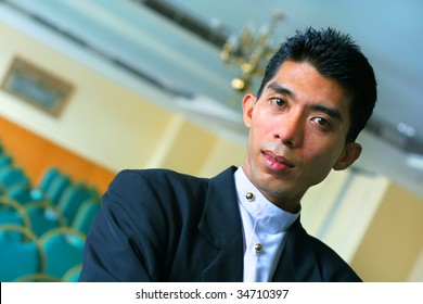 banquet or restaurant manager