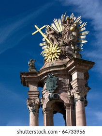 Banska Stiavnica - Holy Trinity column - detail