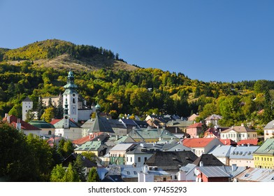 Banska Stiavnica Old castle and historic buildings and urban, Slovakia - Unesco