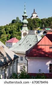 Banska STIAVNICA town in Slovakia, renaissance, historic