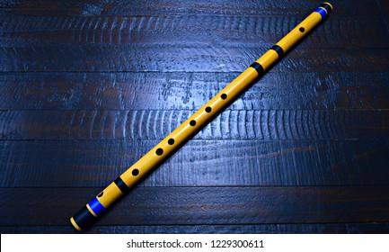 Bansuri Flute Hindustani Classical Musical Instrument