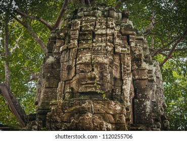 Banteay Kdei Statue ,siem reap ,Cambodia,