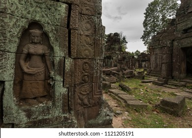 Banteay Prei temple late 12th beginning 13th century in Angkor