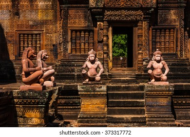 Banteay Srei sculptures, Cambodia