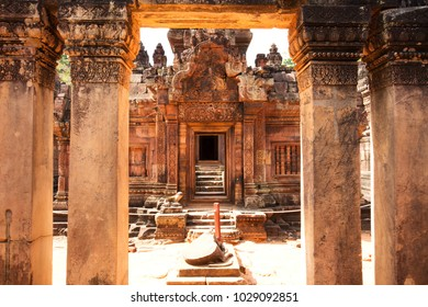 Banteay Srei Temple, Temples of Angkor, Cambodia