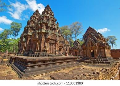 Banteay Srei,Ankor Wat,Cambodia