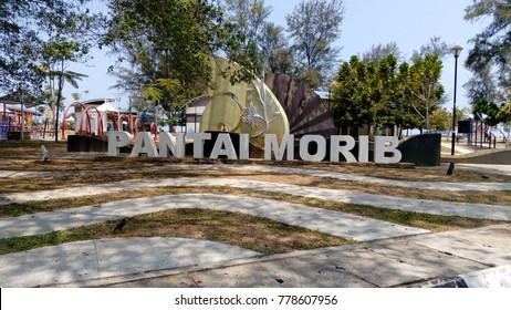 Banting, Selangor ,Malaysia -April 2016 : Pantai Morib in Selangor ,Malaysia
