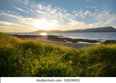 Bantry Bay at sunset. The Wild Atlantic Way, Ireland