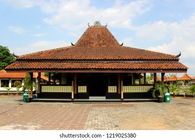 Banyumas Joglo. Traditional house from Central Java, Indonesia