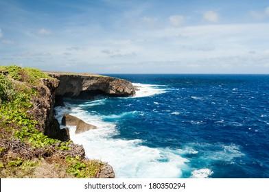 Banzai Cliff in Saipan, USA