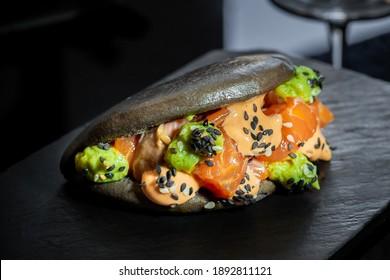 Bao Pato Bao Salmon Bao Duck