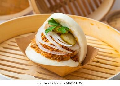 Asian street food images stock photos vectors shutterstock bao sandwich asian street food forumfinder Gallery
