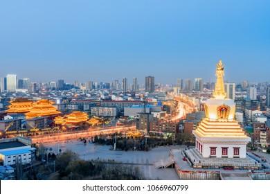 Baohan Khan Temple, Guanyin Temple, Hohhot, Inner Mongolia