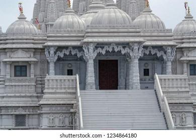 The BAPS Shri Swaminarayan Mandir in Etobicoke, Toronto, Ontario, Canada is a traditional Hindu place of worship that was built by the BAPS Swaminarayan Sanstha.
