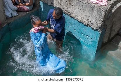 Baptism, Addis Ababa, Ethiopia, 30 March 2019