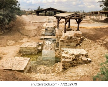 Baptism Site, Jordan. Bastism Site is the place where Jesus of Nazareth was baptized by John the Baptist