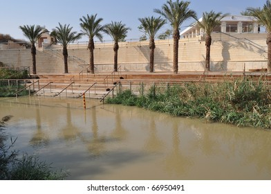 Baptism Site  from Jordan Side