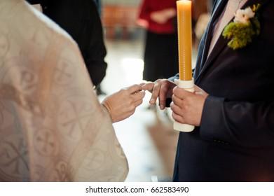 Baptismal wedding ceremony