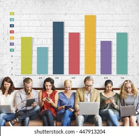 Bar Chart Graph Marketing Profit Improvement Sales Concept