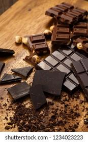 Bar of chocolat