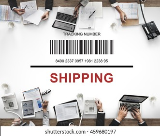 Bar Code Order Tracking Number Concept