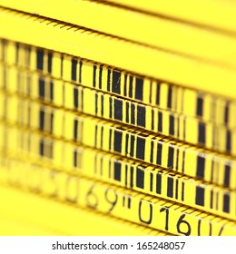 Bar code ruler