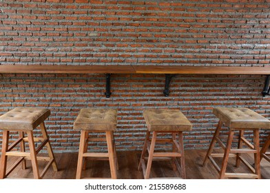 Bar counter and Bar stools